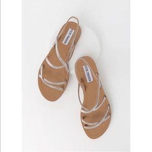 NEW Steve Madden Rita Rhinestone Strappy Sandals